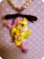 Fluttershy necklace Picture 1 by LAUBoZ