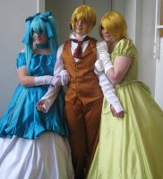 Vocaloid - Dolls - cosplay group by MangaX3me