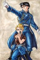 Roy x Riza by Penguinton