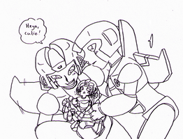 TF - G1!Skywarp+Thundercracker + SG!Starscream by Cloud-Kitsune