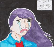 Manga girl ( Luna ) crying emotion by nickperriny7mai