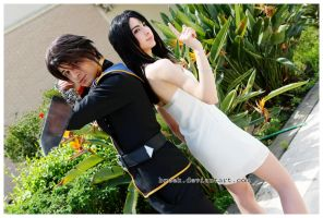 Squall and Rinoa Ballroom by Lilitherz