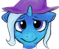quick coloring practice - trixie by FireflyLC