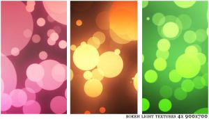Bokeh Light Textures by Maxoooow