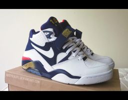 2012 Nike Air Force 180 'Olympic' 1 by BBoyKai91