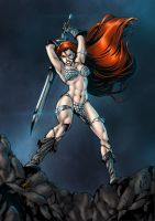 Red Sonja - colors by ZethKeeper