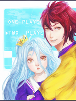 No Game No Life by Suixere