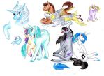 Background Ponies by Dawn22Eagle