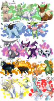 PKMNation: Clutch Dump Part 1 [CLOSED] by garbagekeeper