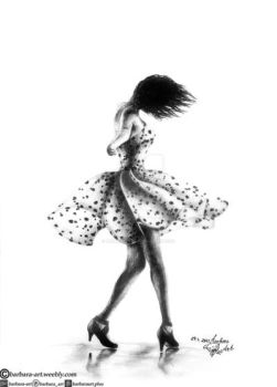Dancer by barbara-art