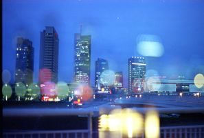 night city bokeh by 6igella