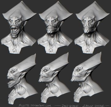 October's alien mouth shapes by mojette