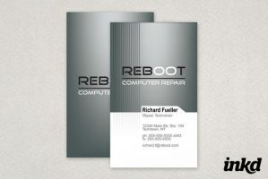 Computer Repair Business Card by inkddesign