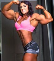 Jacquelyn  Super Double Biceps by Turbo99