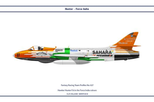 FR027 Hunter Force India by WS-Clave