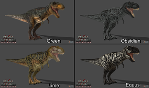 [PCE] T-Rex Skin Pack #1 by Phelcer