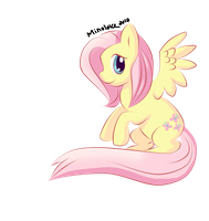 Fluttershy- pen tool test by Minoloke