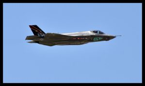 F35 test flight by sandwedge