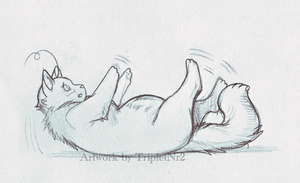 Cant get up -Cana Chubbiness- by TripletNr2