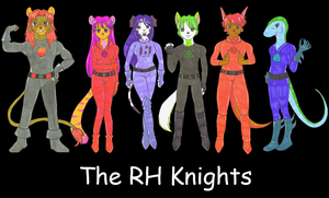 The RH Knights by RustySteele