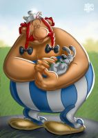 Obelix Colour by billythebrain