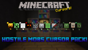 Minecraft Hostile Mobs Cursor Pack by dakotaatokad