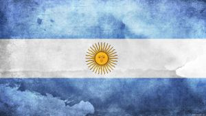 Argentina Flag by think0