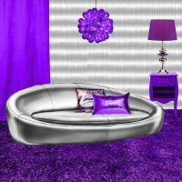 Background Purple Room by weezya