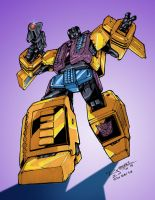 Transformers G1: Swindle by Clu-art