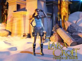 Lara Croft And The Temple Of Osiris by luciferFlash