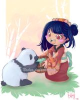 please proctect panda by naelya