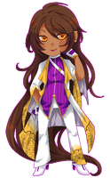 Pixel Comm: cuzzacurry by chisacha