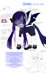 Pony Debbie: reference sheet by Subiculum