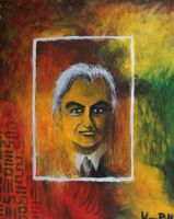 Portrite of Richard Dawkins by VESAPELTONEN