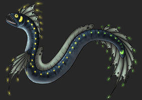 'George' Ravebeast Design (DRAW-TO-ADOPT, CLOSED) by ChamberedNoctilus