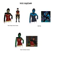Dick Grayson Hoodie by ChrisAmaru