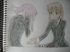 Crona and Maka by BennyToursProd