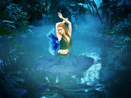 Water Faerie (Photo Manipulation) by Ranefea