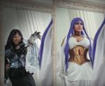 Saint Seiya: Lost Canvas manga cosplay by alberti