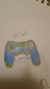 BEN'S  controller  by Ticci-toby-the-wolf