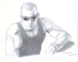 Riddick by d-fly