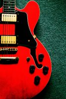 bright guitar by Jhickling