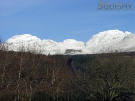 Midwinter 06-Snow on Mountains by squishy2004