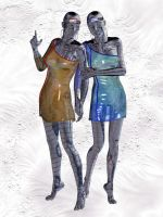 Steel sisters by silverexpress