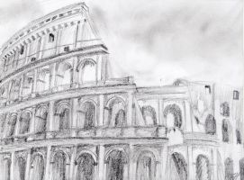 The Colosseum by Triptych-Schift