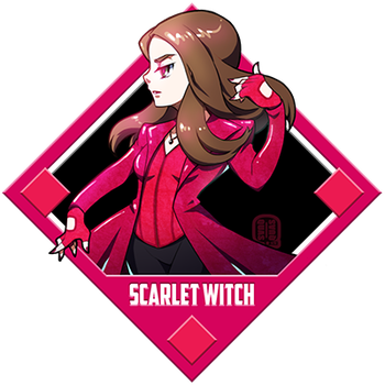 Marvel - Scarlet Witch by Quas-quas