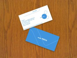 business cards by blind91