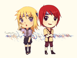 Minato and Kushina - Contest by nattouh