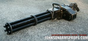 Gatling Gun Filming Prop - Motorized Barrel by JohnsonArms