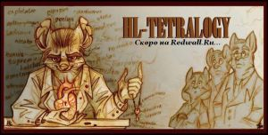 HL-tetralogy banner. by FortunataFox